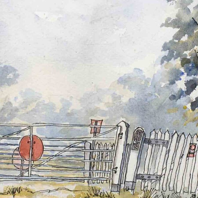 Crossing the Peddars Way by Penny Newman