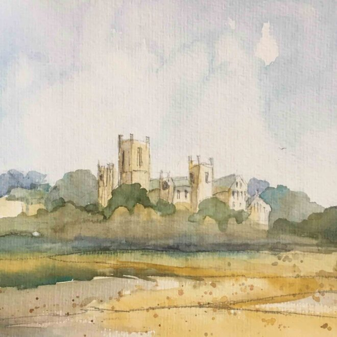 Ely cathedral by Penny Newman