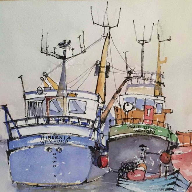 Harbour friends by Penny Newman