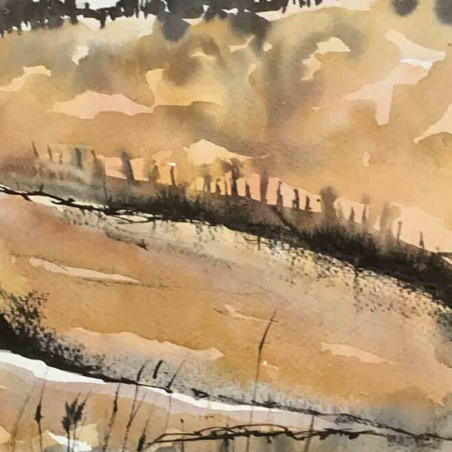 Holkham beach by Penny Newman