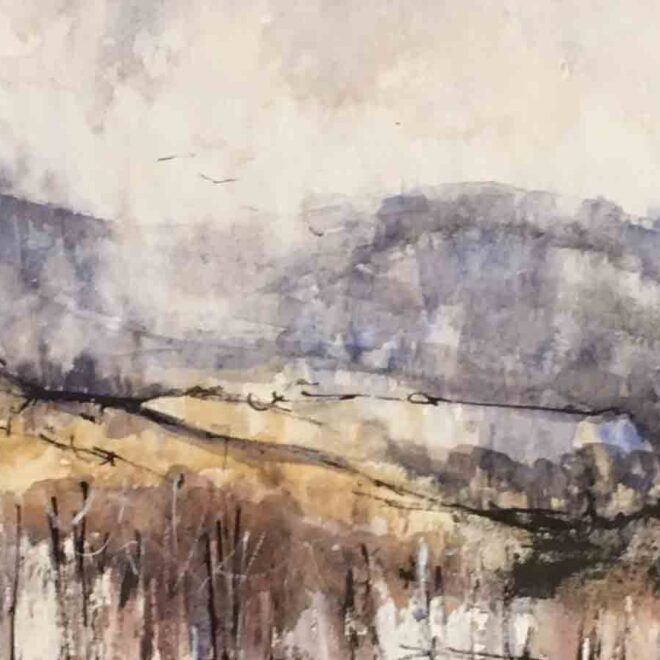 Passing shower by Penny Newman