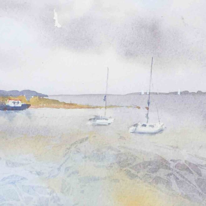 Sailing from Wexford by Penny Newman
