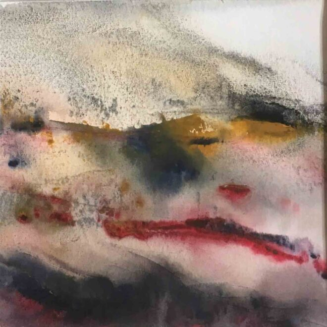 Stormy heather by Penny Newman