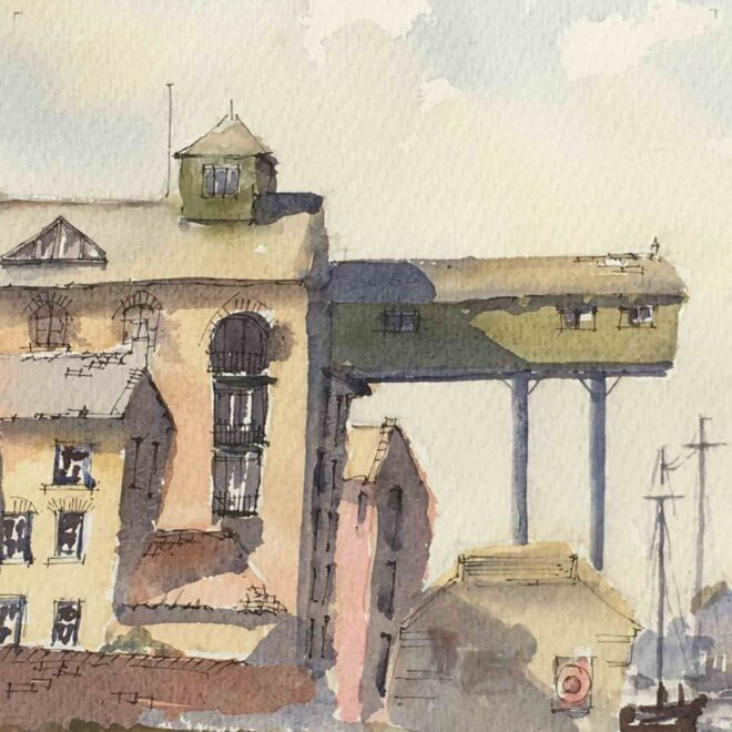The Granary, Wells 2 by Penny Newman